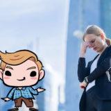 仕事を辞めるかどうかで悩む女性